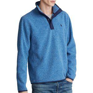 Ralph Lauren LS Fleece Mockneck Pullover Shirt
